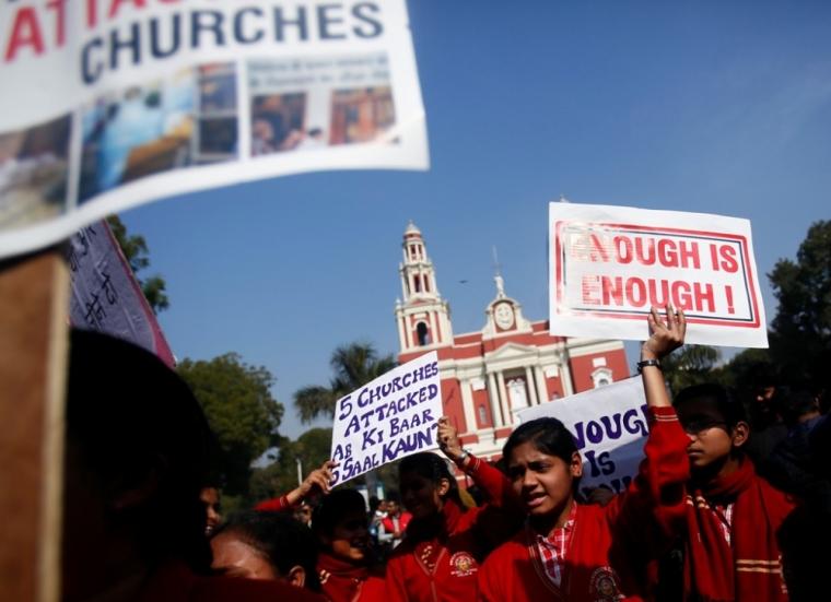 Christian minority in India