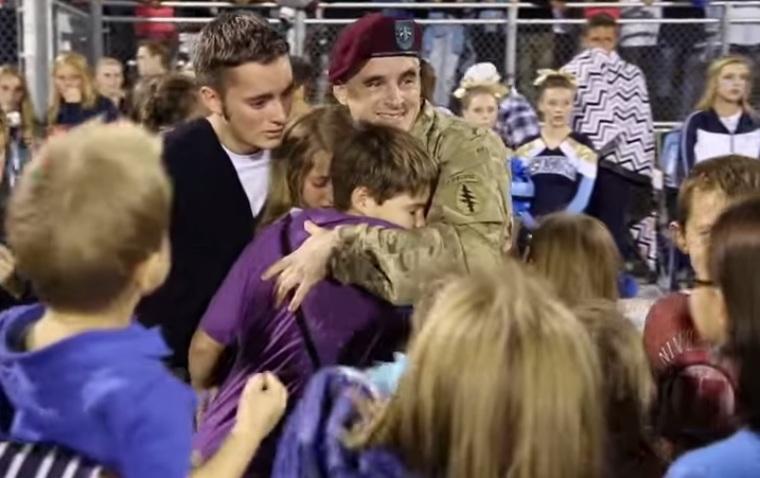 Ethan's Military Homecoming at Westlake High