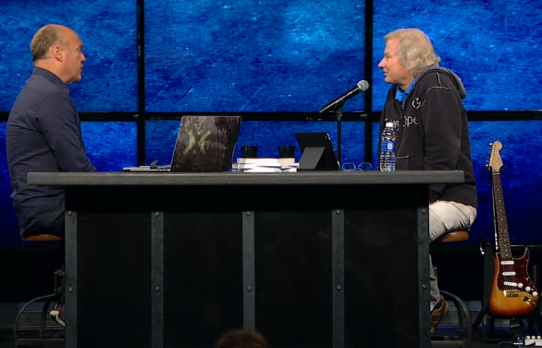 Greg Laurie with Don Stewart