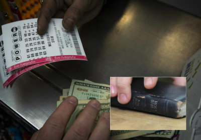 Bible Lottery tickets
