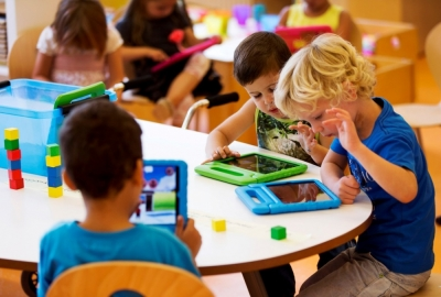 School-issued iPads