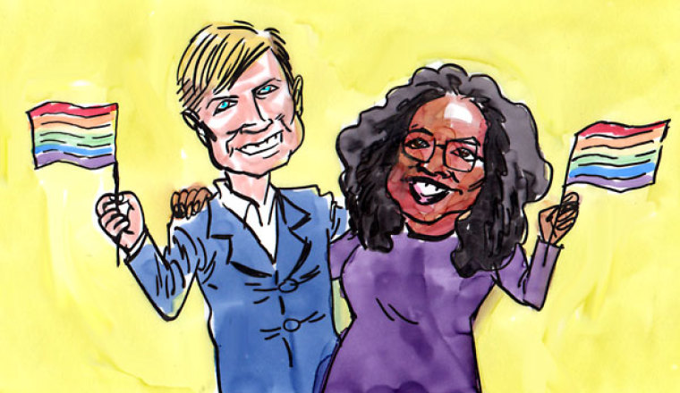 Rob Bell and Oprah Hold Court on Gay Marriage