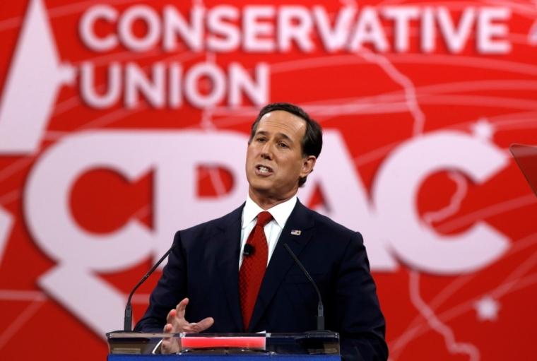Former Pennsylvania Senator Rick Santorum