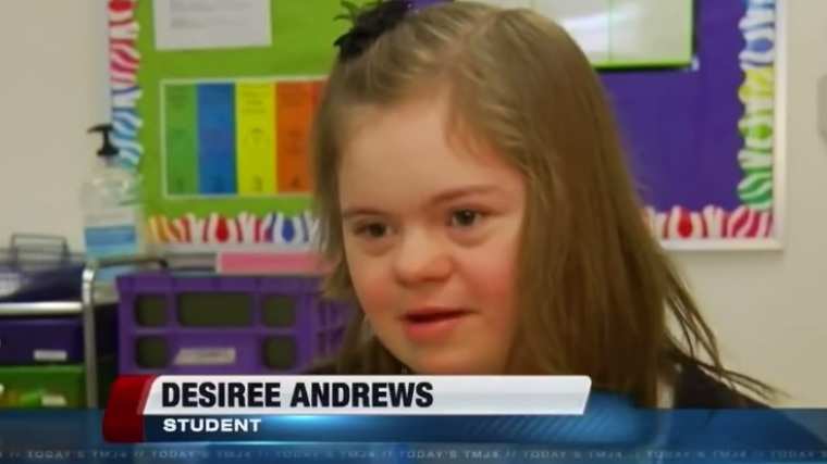 Down Syndrome Girl Gets Rescued From Bullies By Her Team