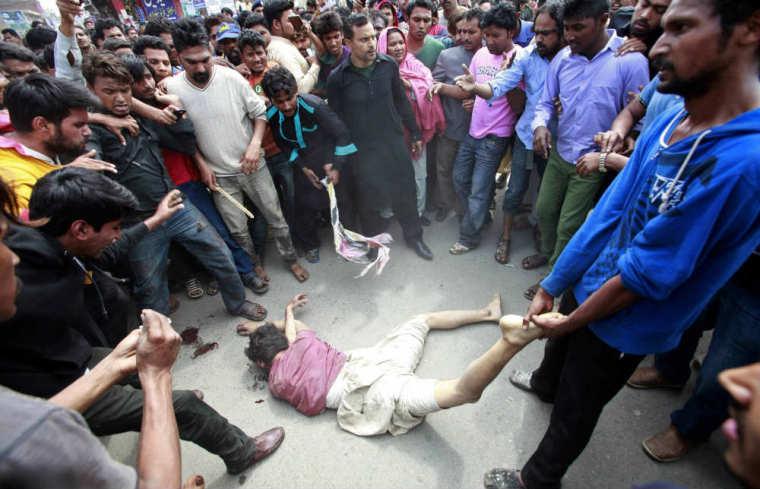 Pakistan Church Bombings