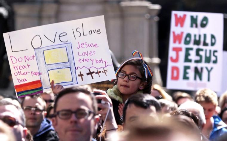 religious freedom demonstrators