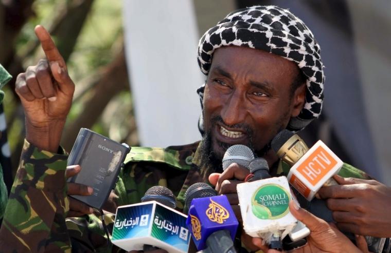 Senior Al Shabaab officer Mohamed Mohamud alias Sheik Dulayadayn