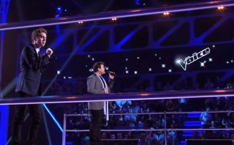 Harrison Craig And Tim Moxey Sing You Raise Me Up