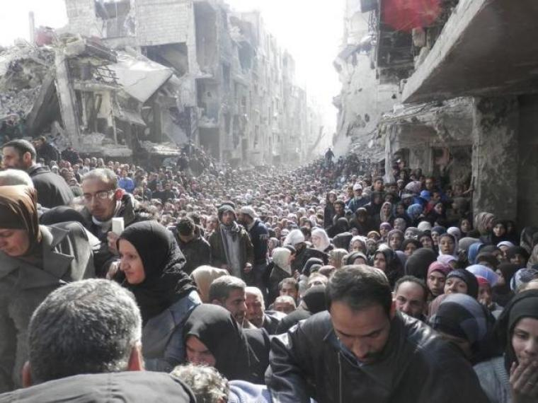 Yarmouk Refugee Camp