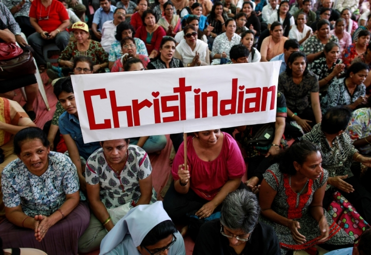Statue of Jesus and 14 Crosses Forcibly Removed from Christian Property in India