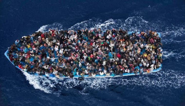 Migrants, boat, capsize, mediterranean