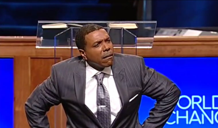 Creflo Dollar, Airplane