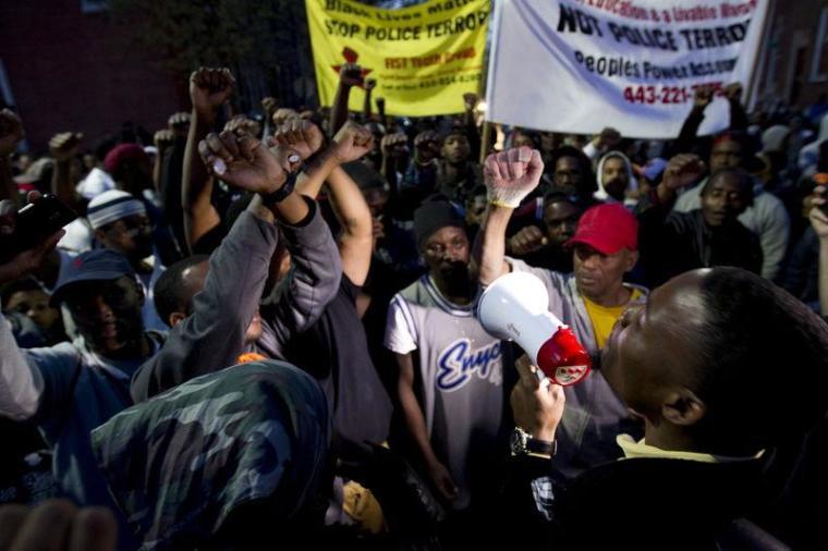 Freddy Gray Protest