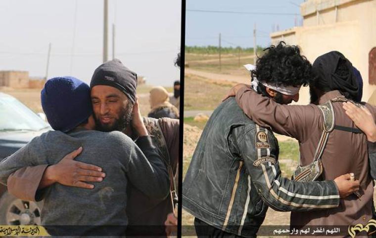 ISIS hug victim