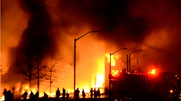 Multi-Million Dollar Community Center for Seniors Burned Down