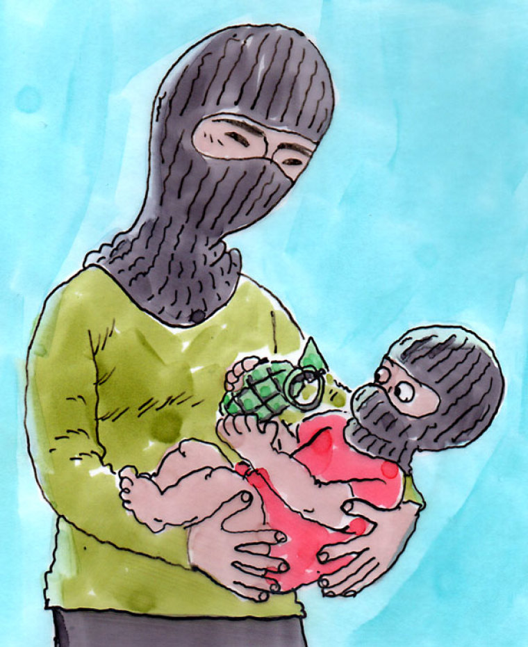 ISIS Indoctrinates In The Cradle