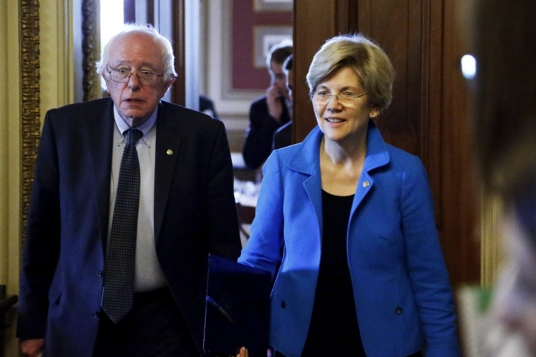 U.S. Senators Bernie Sanders