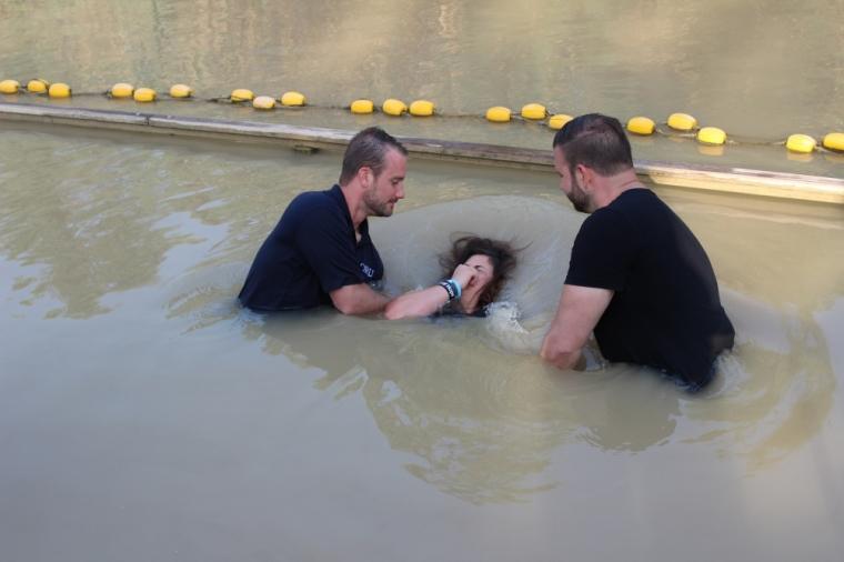 Student, Baptism, Jordan River