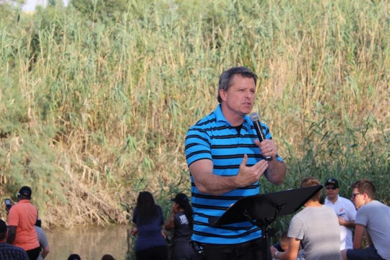 Ron Luce, Jordan River, Israel
