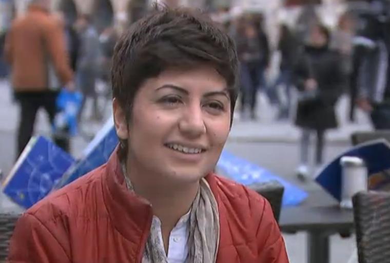 Syrian migrant Aliaa Hwijah