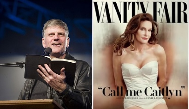 Franklin Graham and Caitlyn Jenner