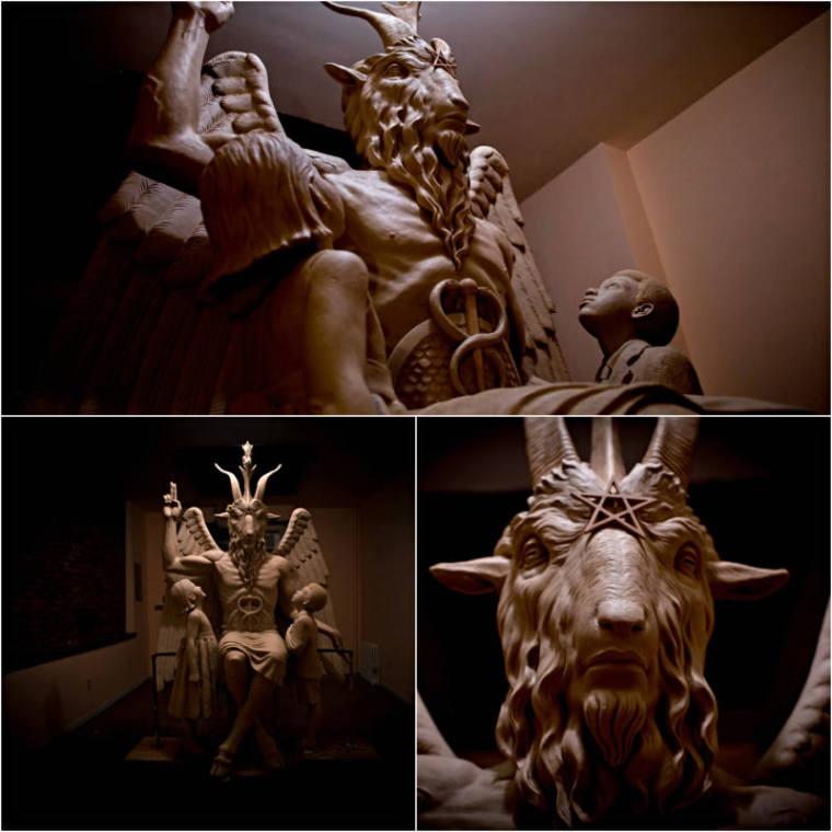 Satanic Temple's Baphomet monument
