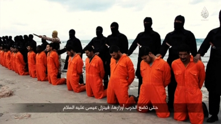 Coptic Christians beheaded by ISIS in video credited with