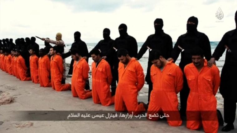 Islamic State Beheads Egyptian Coptic Christians