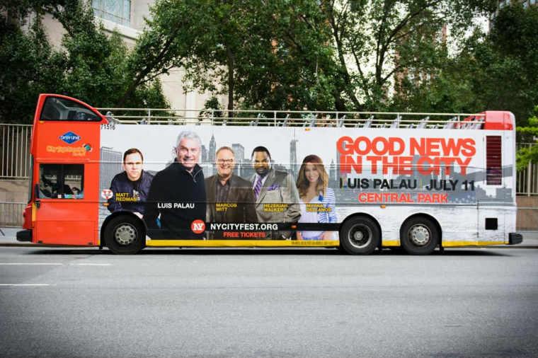 NY City-Serve Bus ad