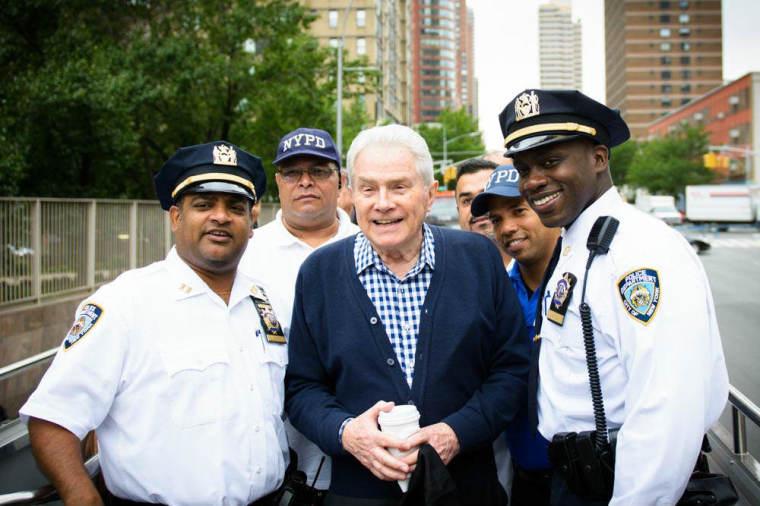 Luis Palau NYPD