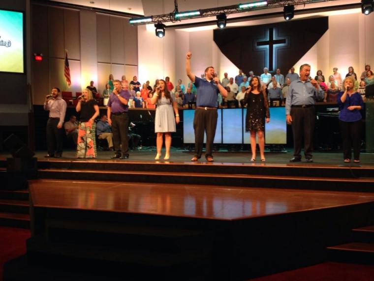 Mobberly Baptist Church Worship Team