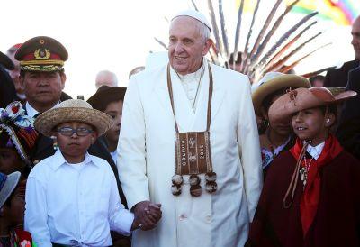 Pope Francis, Bolivia