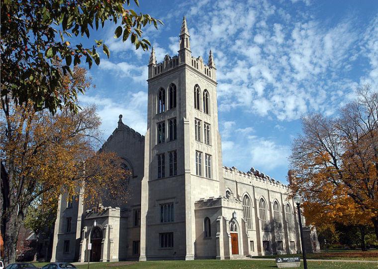 Hope College's Dimnet Chapel