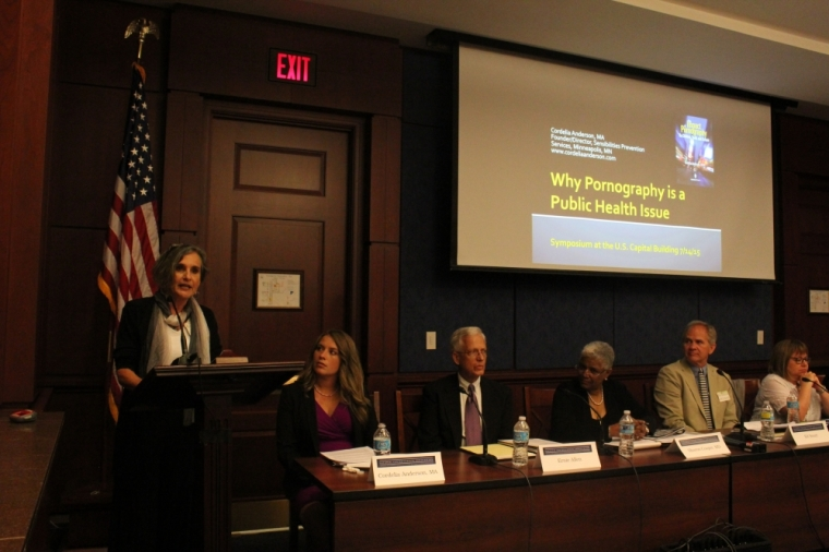 Congressional briefing on the health crisis of pornography