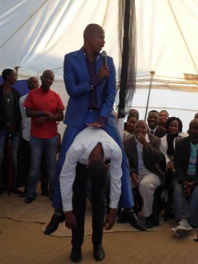 South African prophet Penuel Mnguni, Snake, End Times Disciples Ministries