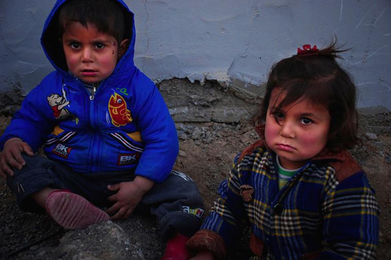 Syrian and Iraqi refugee children