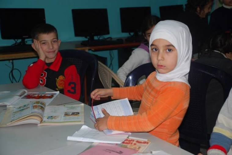 The Life Center offers morning and afternoon classes for at-risk children in addition to food and clothing for hundreds of refugees that visit the center daily