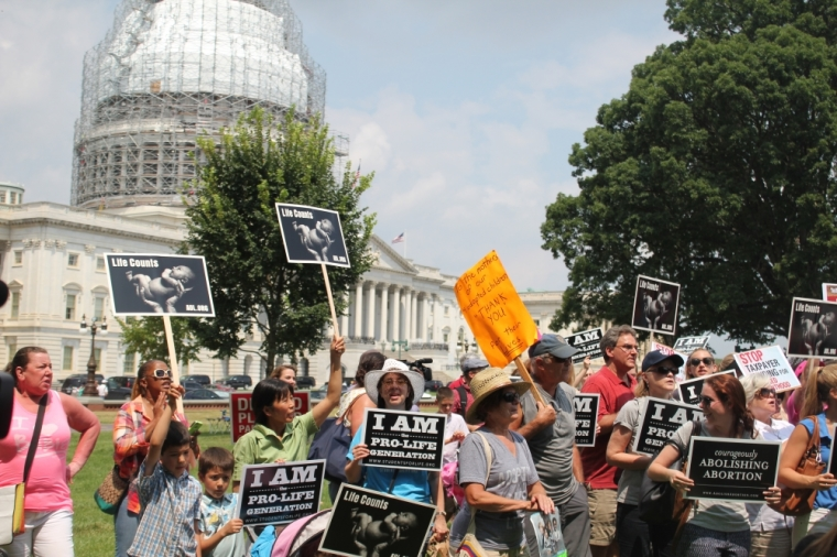 #WomenBetrayed Protesters on Capitol Hill