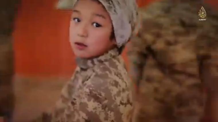 Islamic State child recruit