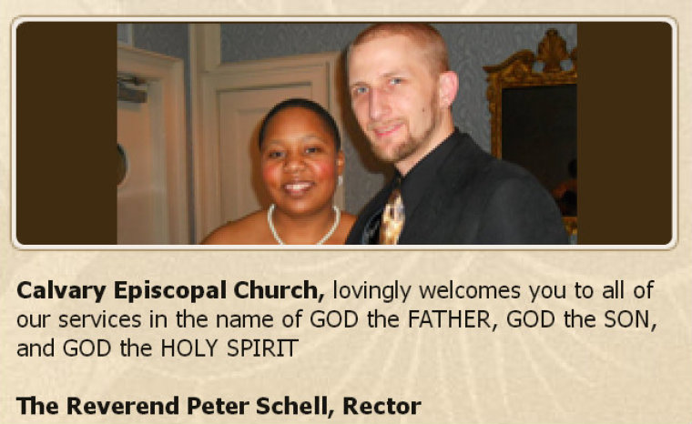 Peter and Rondesia Jarrett Schell serve at Calvary Episcopal Church.