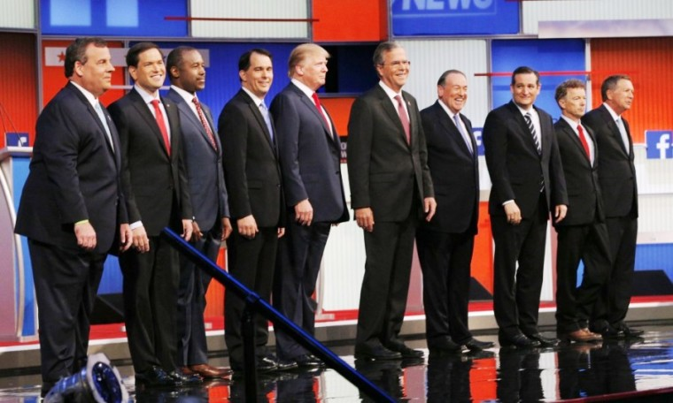 GOP 2016 Presidential candidates