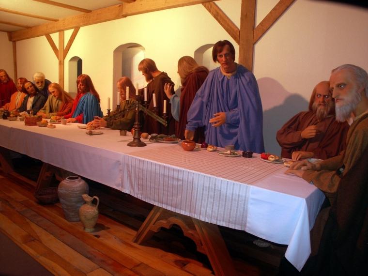 BibleWalk last supper