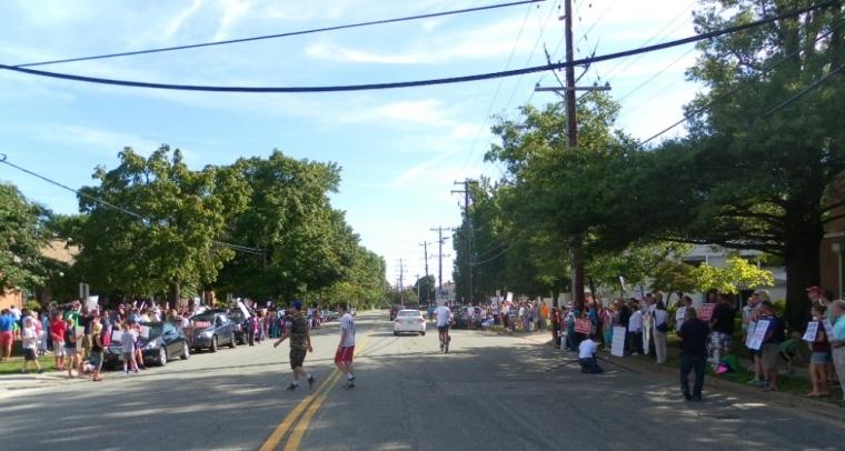 Richmond Planned Parenthood Protest