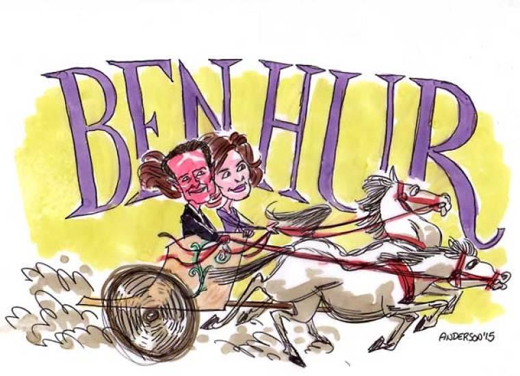 Roma Downey and Mark Burnett Take On 'Ben Hur'