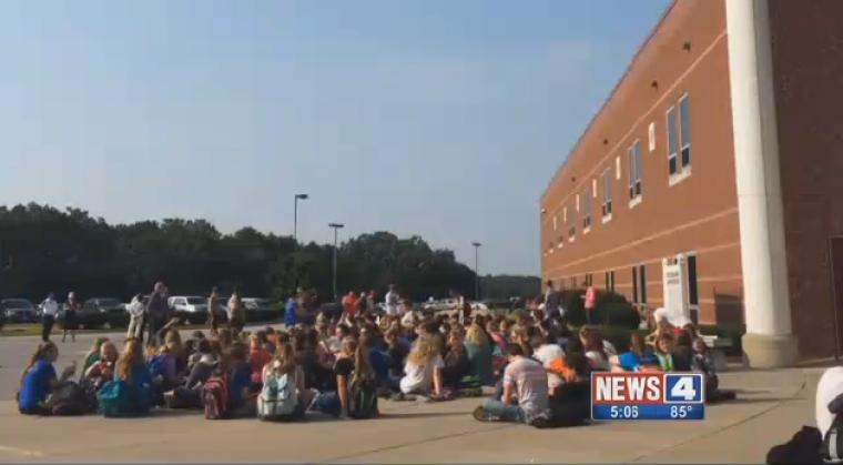 Student Protest at Hillsboro High