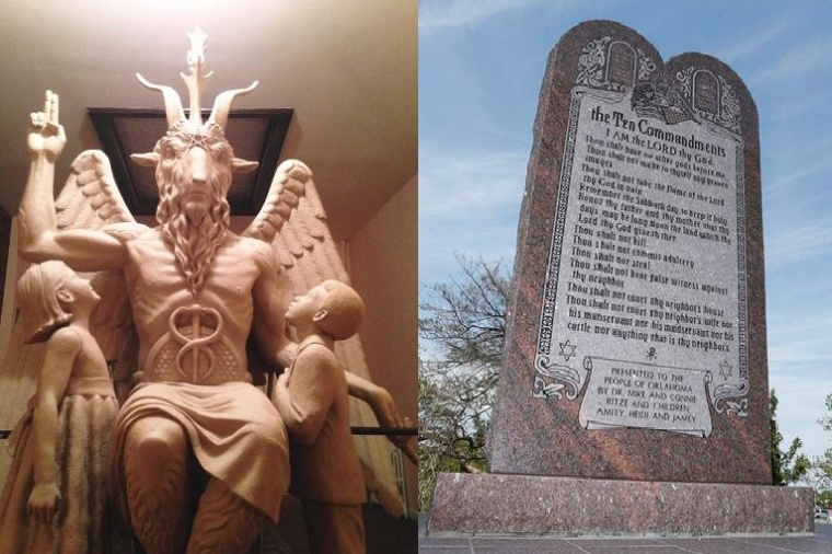 Baphomet, Ten Commandments