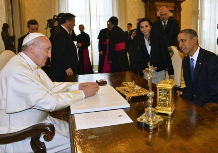 Pope Francis and US President