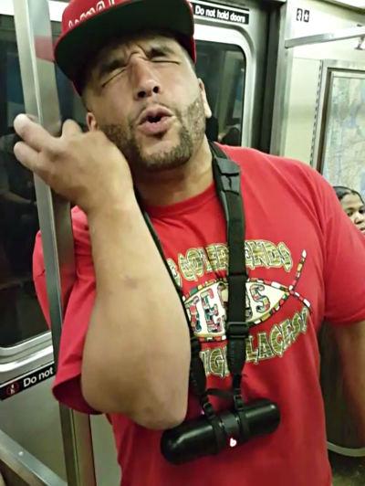 Gospel rapper Brimstone
