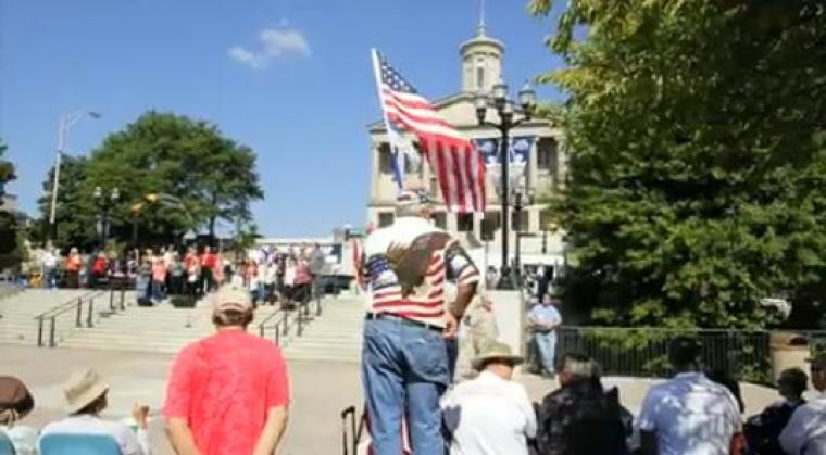 Tennessee religious freedom rally