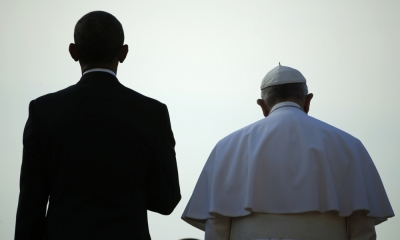 Barack Obama and Pope Francis